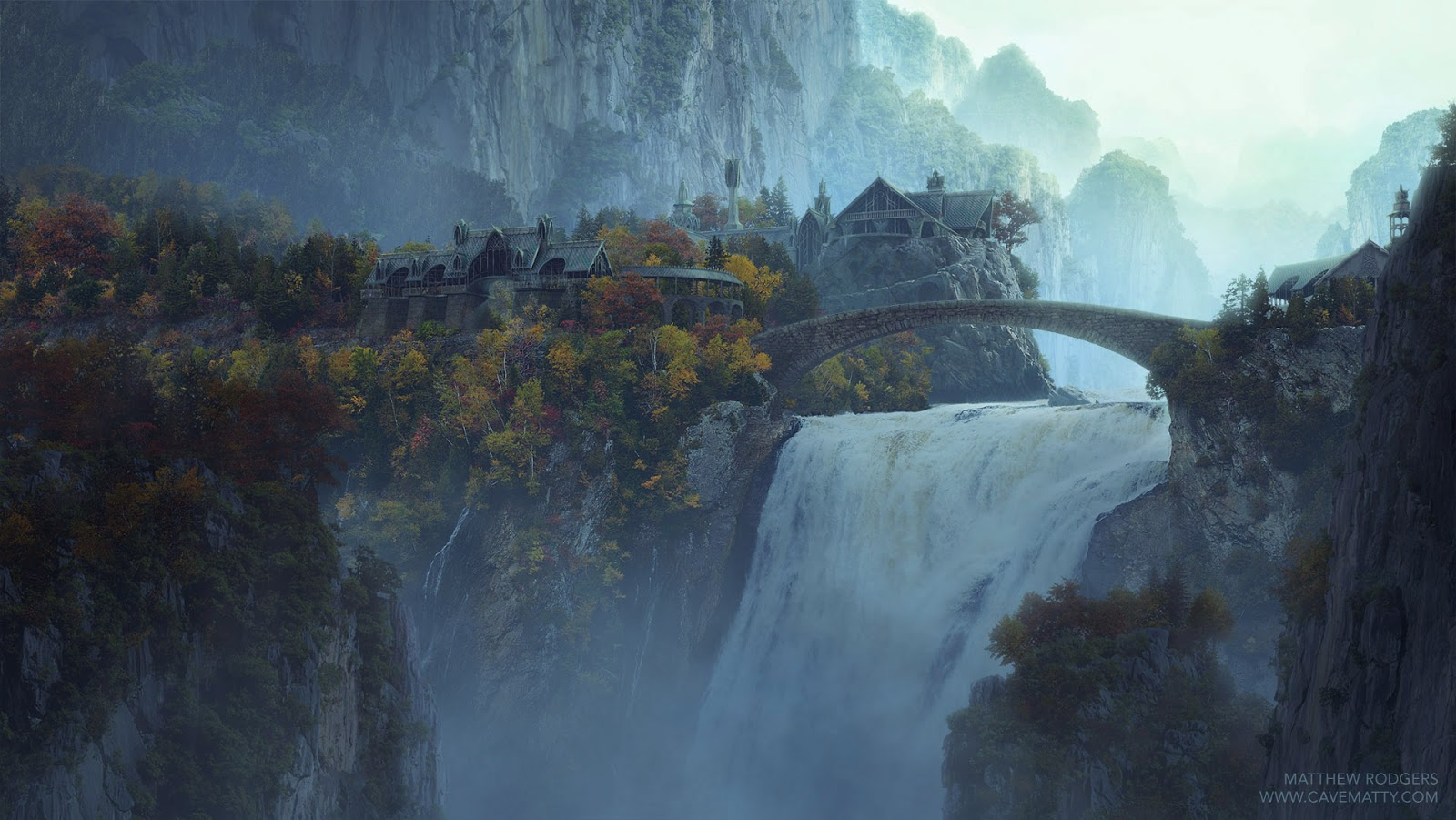 Cavematty 39 s sketchbook for Matte painting