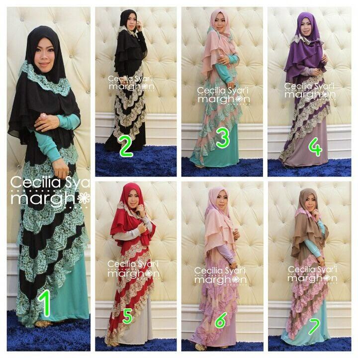 Baju Muslim Terbaru Lazada - Cecilia Vol. 3 By Marghon