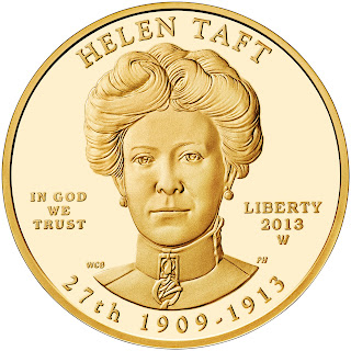 US Gold Coins Helen Taft 10 Dollars First Spouse Gold Coin