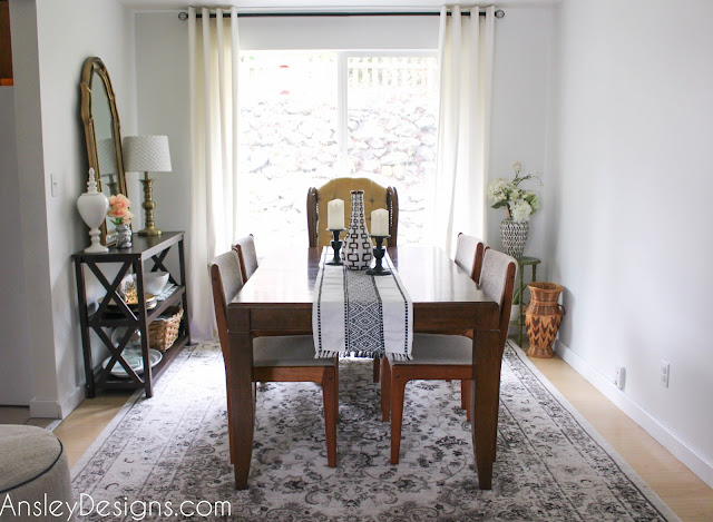 Ansley Designs: Fresh Mid-Century Dining Room