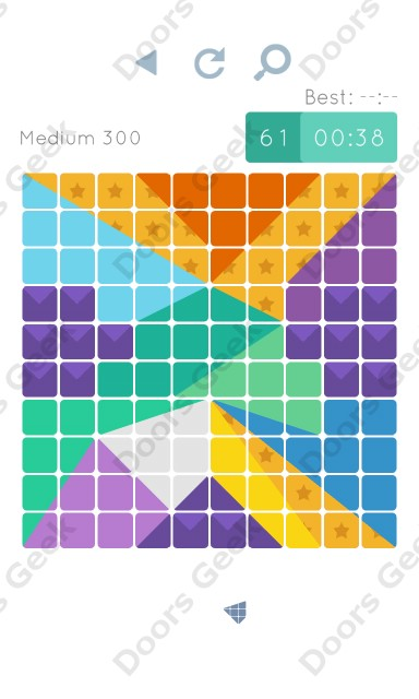 Cheats, Walkthrough for Blocks and Shapes Medium Level 300