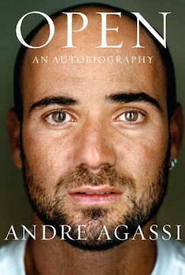 Open: An Autobiography by Andre Agassi - book cover