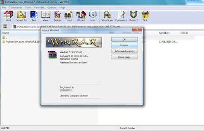 Screen Shot WinRAR 5.30 Final Full Version