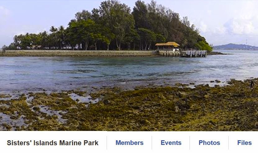 Sisters' Islands Marine Park on facebook
