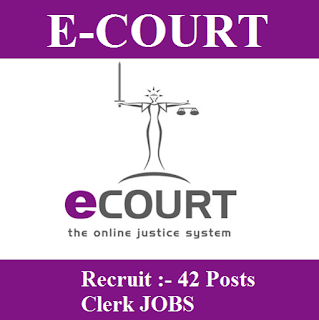 District & Session Judge, e-Courts, Punjab, Clerk, Graduation, freejobalert, Sarkari Naukri, Latest Jobs, e-courts logo