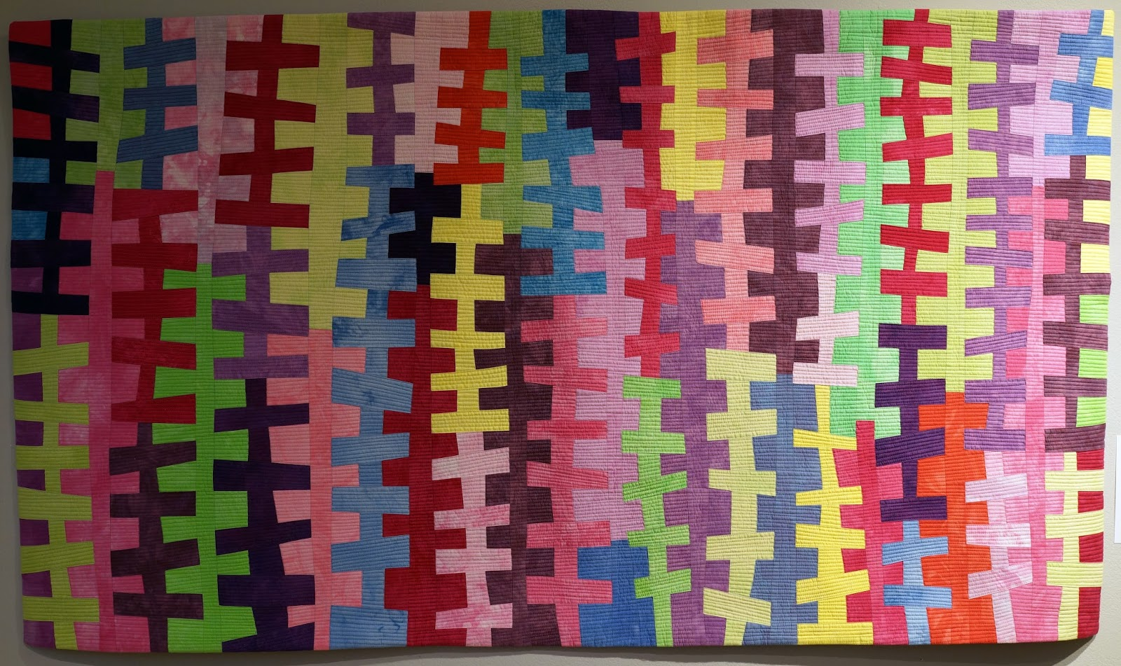 amuse-bouche @ Art Quilt Elements, 2016 | Martha Wolfe : quilting art - Adamdwight.com