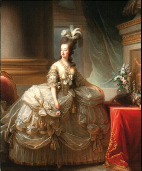Elisabeth Lebrun Marie Antoinette