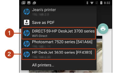 HP DeskJet 2677 / 2678 Wifi Setup Android Smartphones or HP DeskJet 2677 / 2678 Wifi Setup Tablets