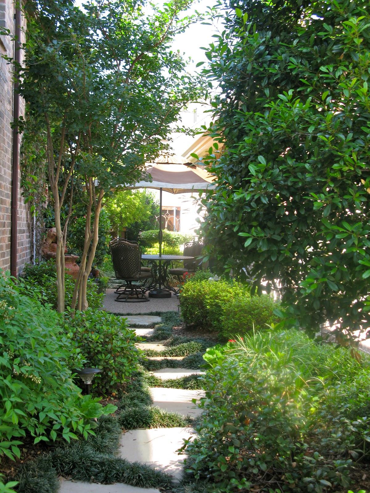 Small Patio Shade Gardens