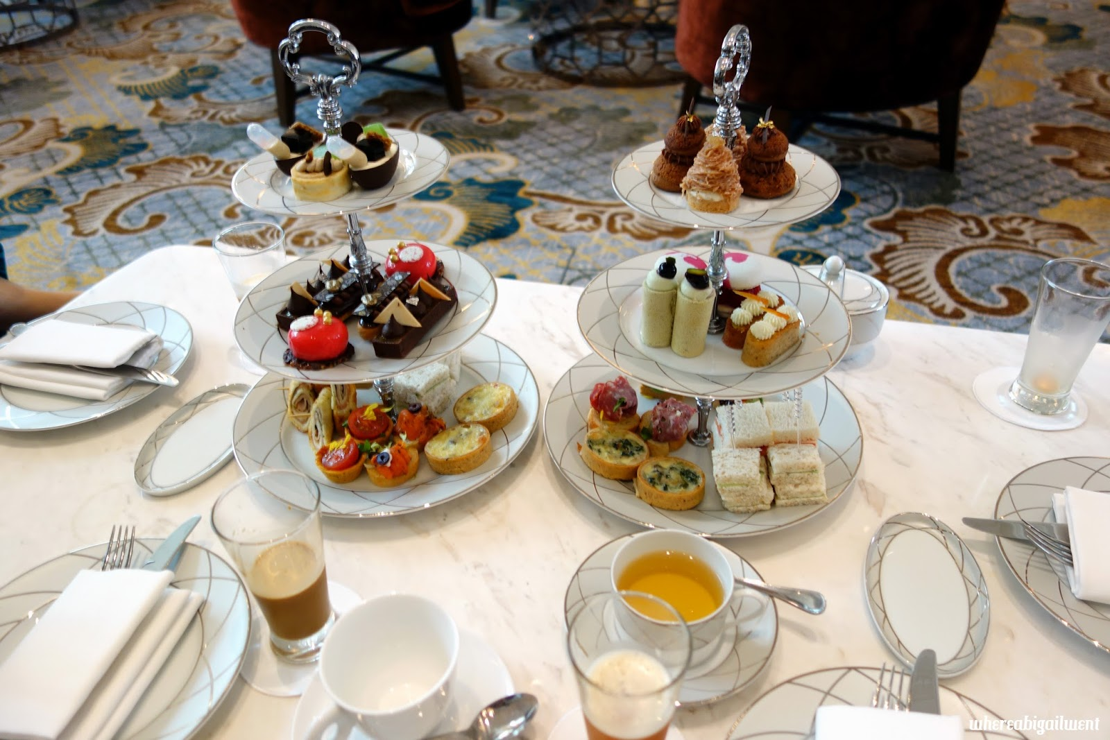 Intercontinental Singapore High Tea at Bugis