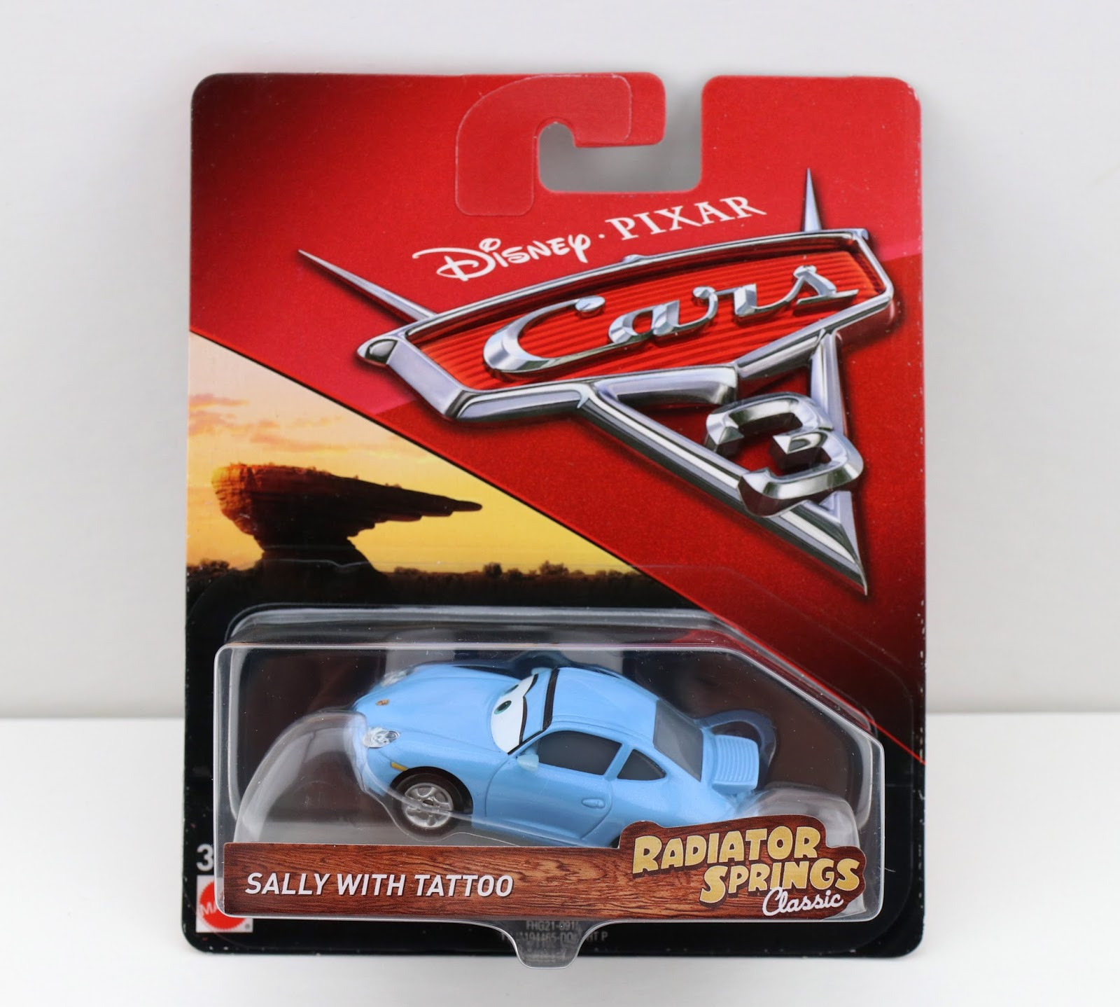 cars 3 radiator springs classic sally with tattoo