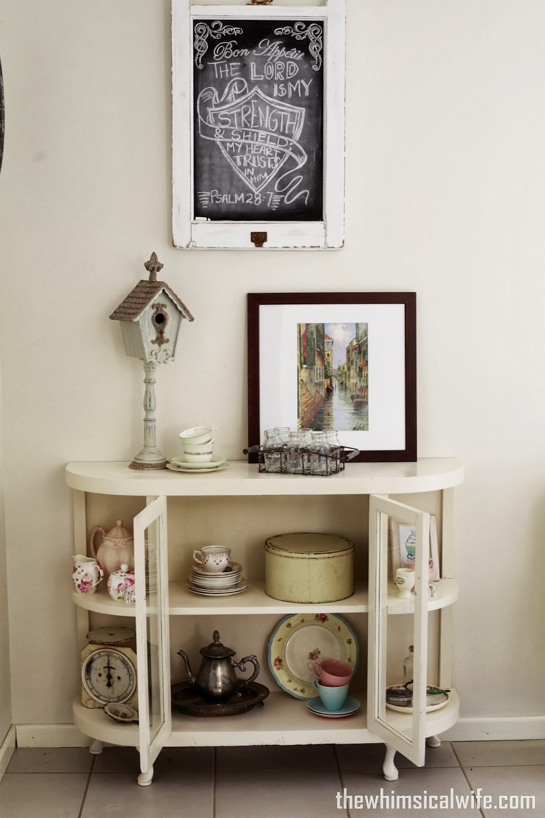 Whimsical Shelves Queen Anne Display Cabinet The Whimsical Wife Cook