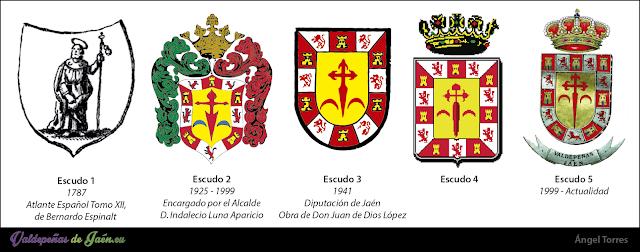 cronología escudos valdepeñas de jaén