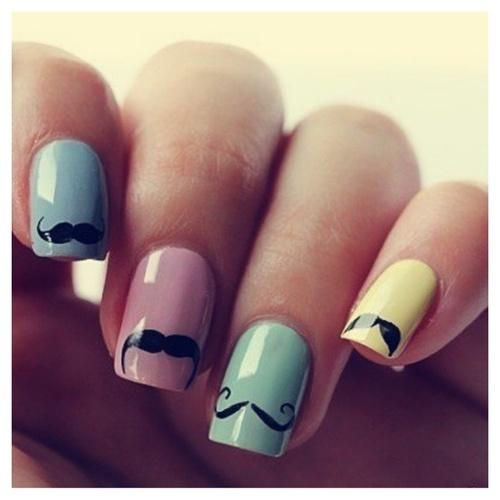como decorar uñas de niña