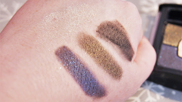 Bourjois Smoky Stories Quad in Welcome Black Swatches
