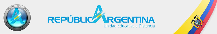Unidad Educativa Distancia REPUBLICA DE ARGENTINA