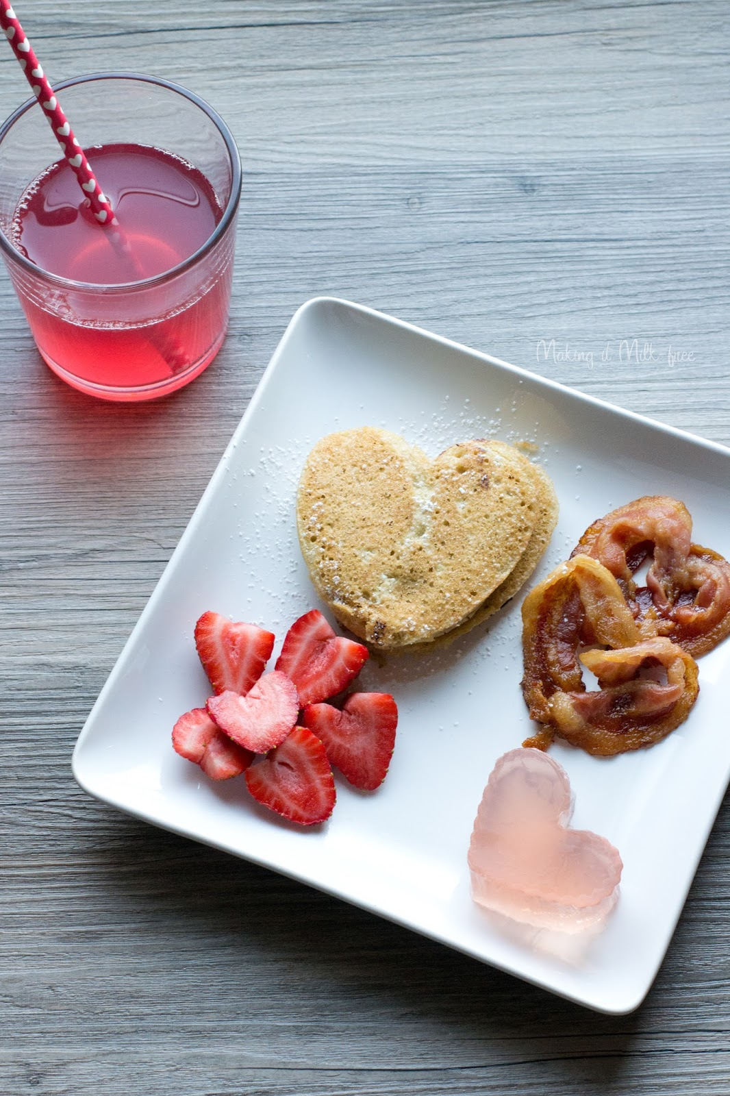 Valentine's Day Brunch by Making it Milk-free