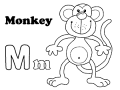 Letter M Coloring Page 6