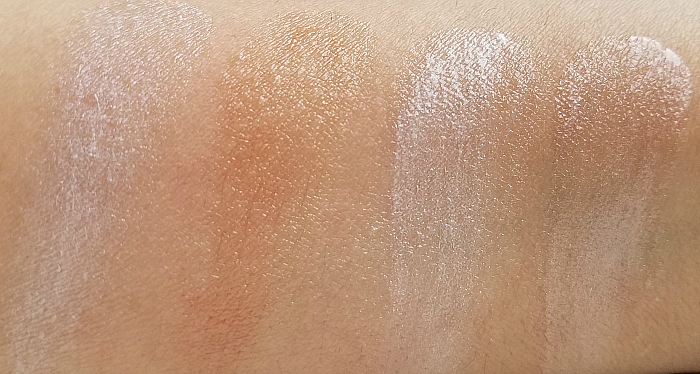 Swatches: rms Beauty Luminizer X Quad - 4.82g - £46.00