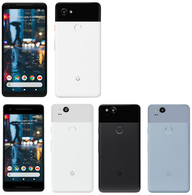 Google Pixel 2 and Pixel 2 XL : Press images, Release Date,Specs, Price
