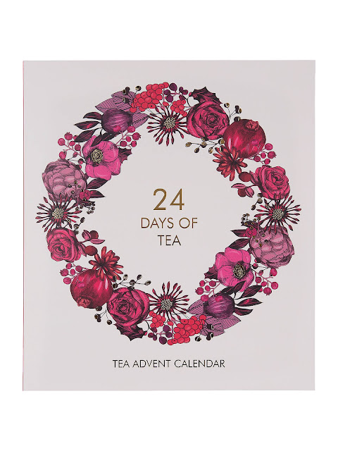 24 days of tea advent calendar