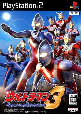 Ultraman fighting evolution 3 video