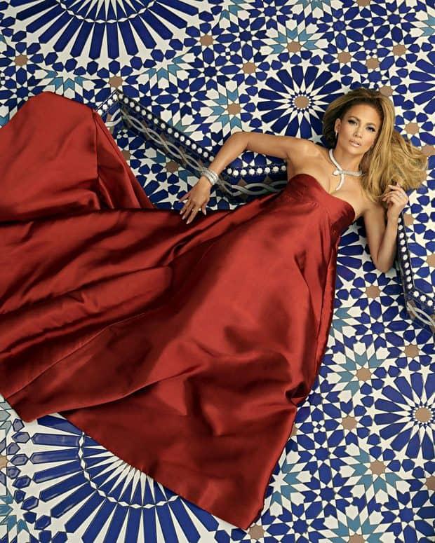 Американская актриса и певица Дженнифер Лопес