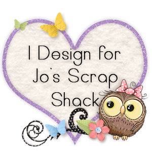 Jo's Scrap Shack Challenge Blog Design Team Member