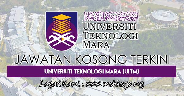 Jawatan Kosong Terkini 2018 di Universiti Teknologi MARA