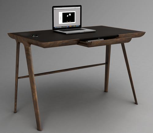 La scrivania minimalista arredamento facile for Scrivanie moderne design