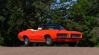 1969 Pontiac LeMans GTO Ram Air IV Convertible Front Right