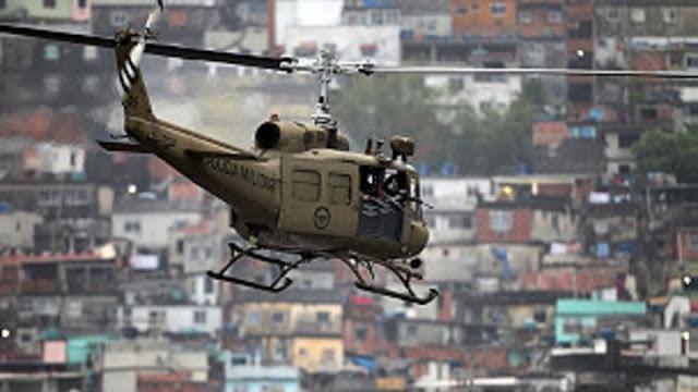Mega-operativo militar en favelas de Río contra los narcos del Comando Vermelho