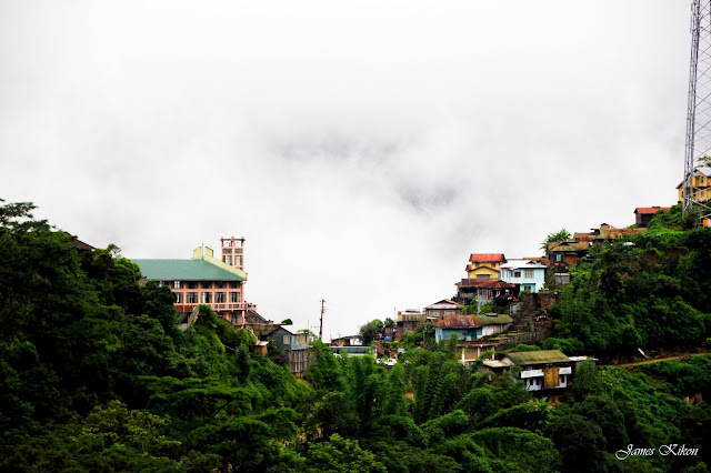 khonoma green village nagaland hills clouds
