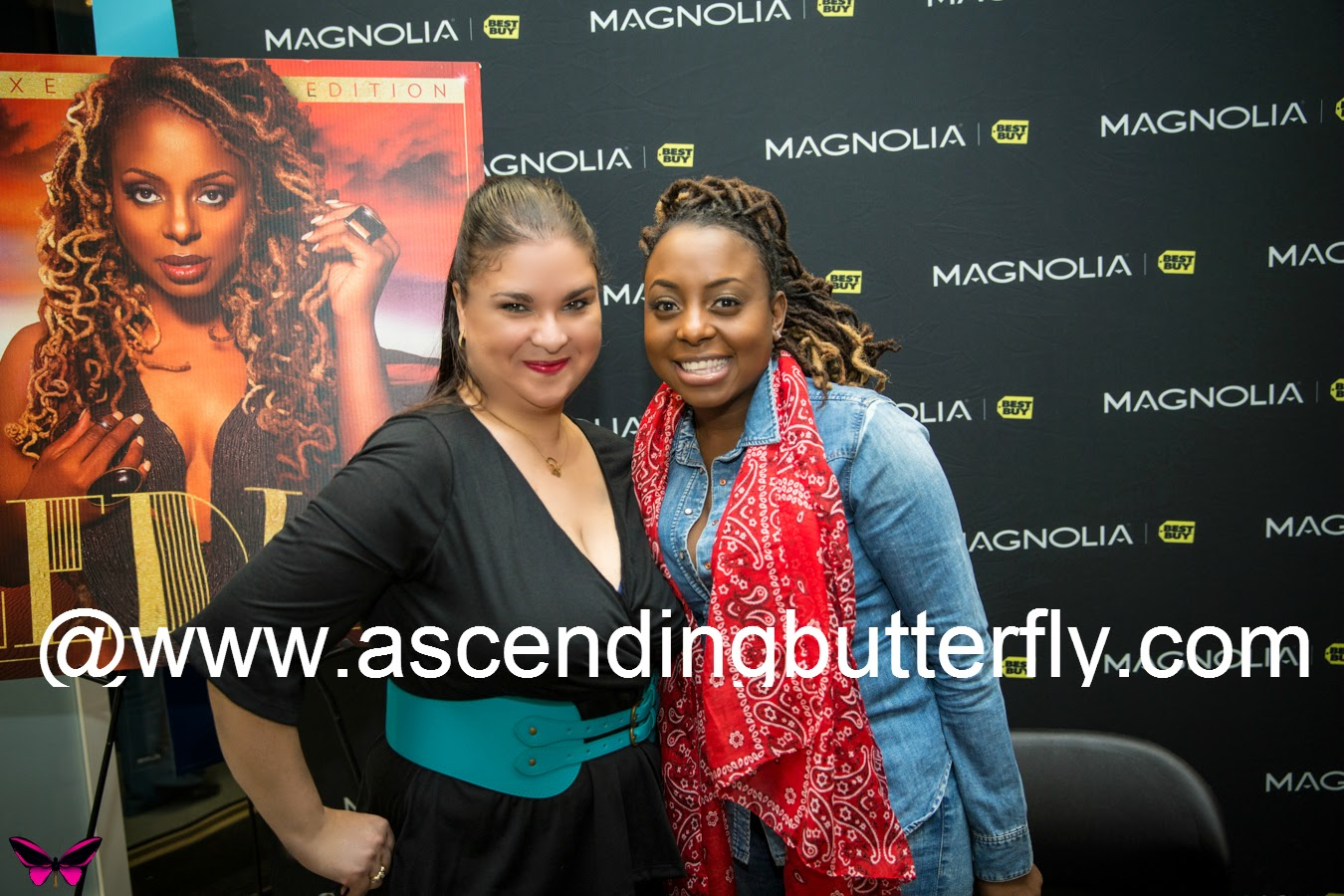 Ascending Butterfly and Ledisi at The Truth Autograph Signing at Best Buy