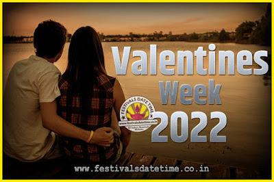 2022 Valentine Week List : 2022 Valentine Week Schedule, Hug Day, Kiss Day, Valentine's Day 2022