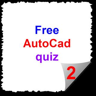 Free autocad quiz