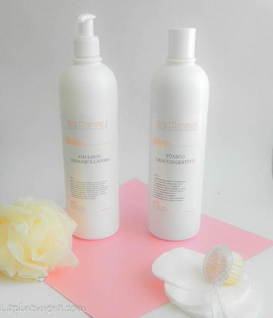 leche limpiadora y tónico