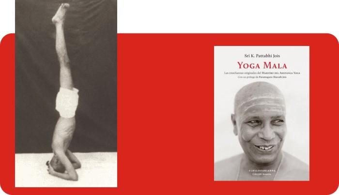 Yoga Mala de Sri K Pattabhi Jois. Sirsasana.