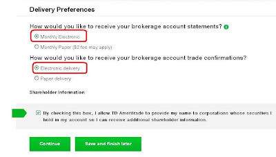 Td investment options upgrade form 800016