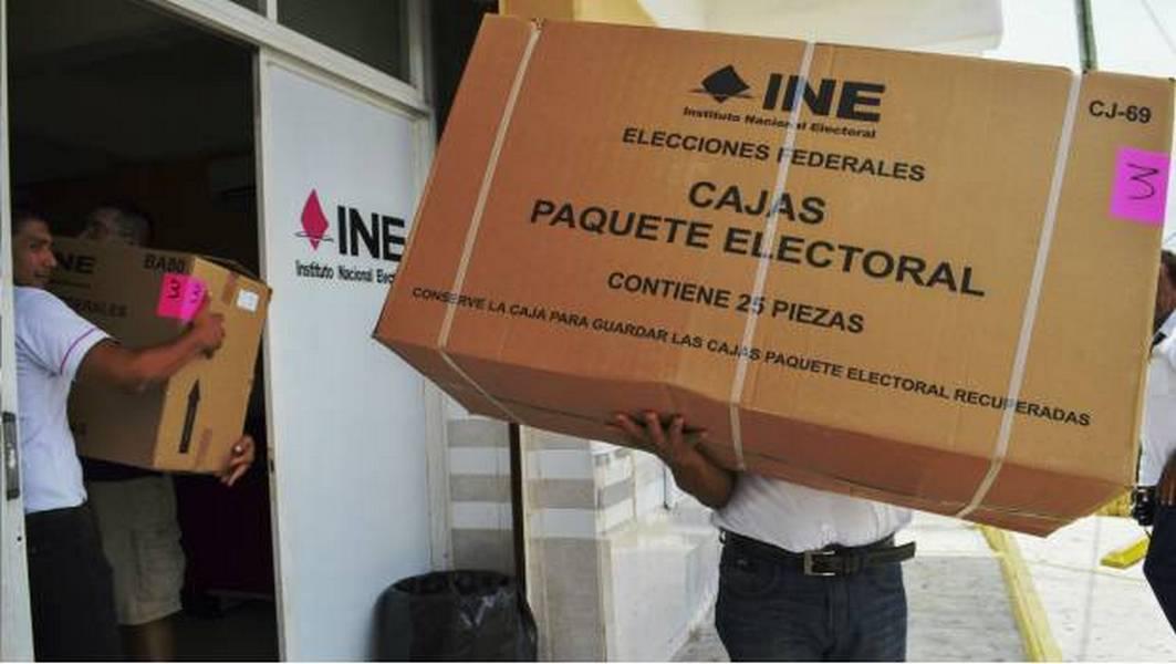 Destinará INE 3 mil mdp para material electoral