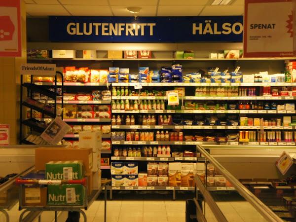glutenfrei Einkaufen in Stockholm