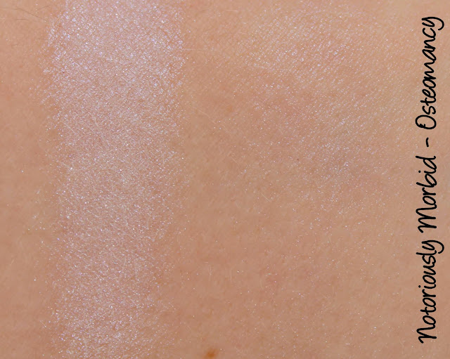 Notoriously Morbid Osteomancy Highlighter Swatches & Review