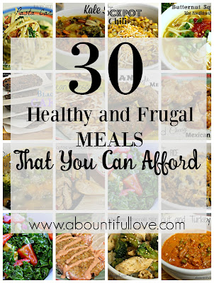 Healthy and Frugal Meals