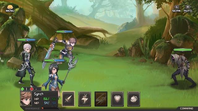 Azure Saga Pathfinder PC Game Free Download Screenshot 1