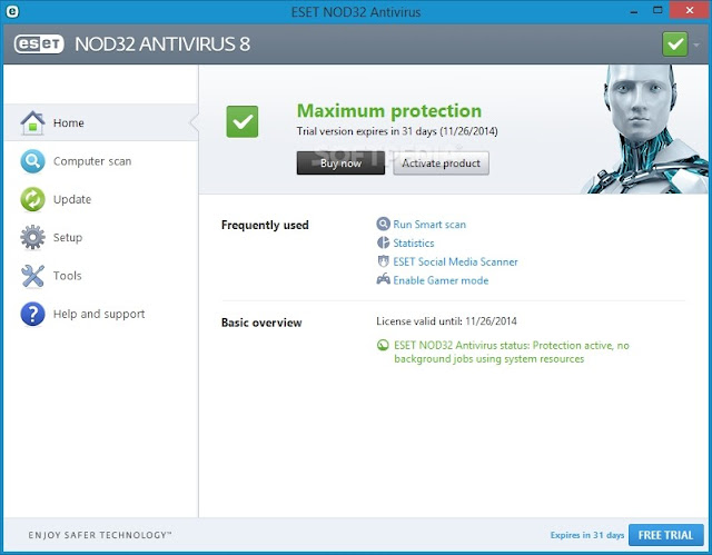 تحميل برنامج نود 32 انتي فايروس Download NOD32 Antivirus 2020 لحماية الكمبيوتر و الاندرويد والايفون - موقع حملها