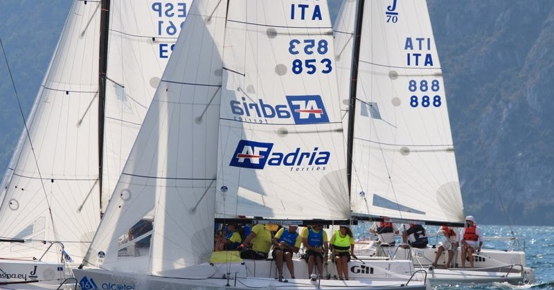 J70 a Riva: L'Elagain saldamente al comando. Cayard terzo in parità