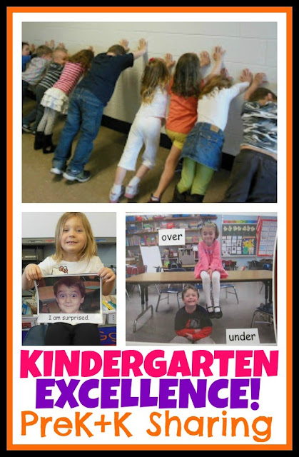 Kindergarten EXCELLENCE at PreK+K Sharing!