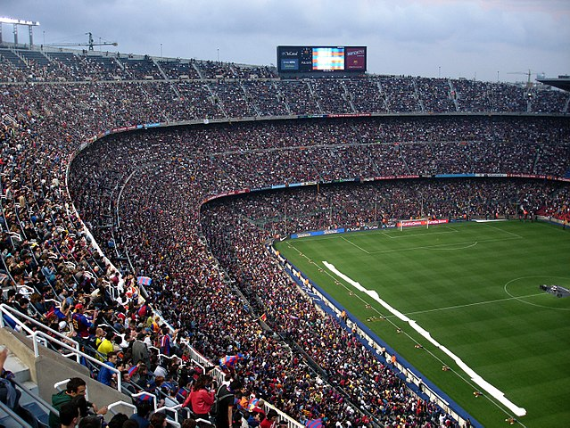 Camp Nou Stadium, Barcelona