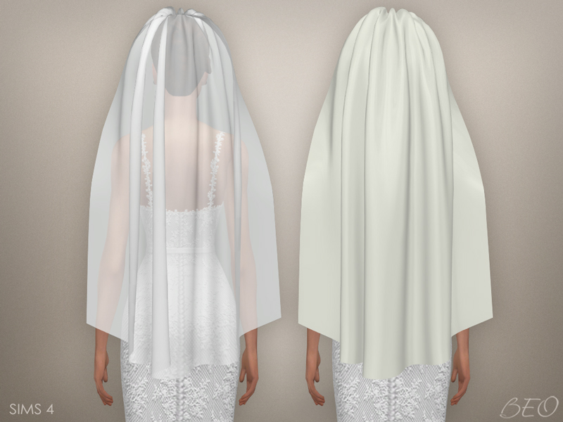 Sims 4 Wedding Veil.Sims 4 Cc S The Best Wedding Veil 03 By Beo
