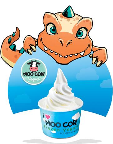 U Mobile Free Moo Cow Frozen Yogurt Froyo